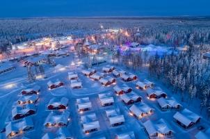 Finland - Santa Claus Village in Rovaniemi