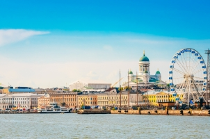 Finland - Panorama of Embankment