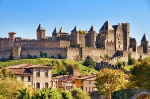 France - Castle of Carcassonne