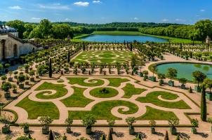 France - Orangerie Parterre in Versailes palace