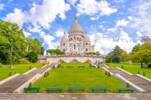 France - The Basilica of the Sacred Heart of Paris