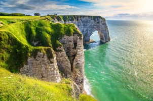 France - Normandy coastline