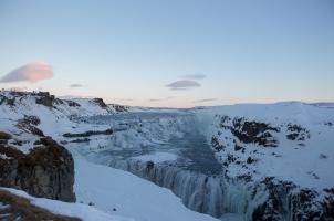 Iceland - Gullfoss winter
