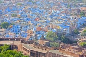 India - Blue City Jodhpur Rajasthan