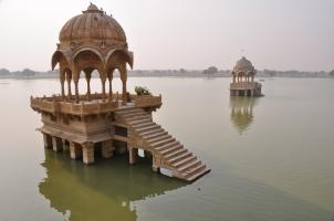 India - Ggadisagar lake Jaisalmer