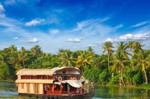 India - Houseboat Kerala backwaters