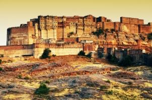 India - Mehrangarh Fort Jodhpur Rajasthan