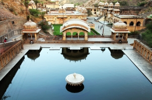 India - Monkey temple Galwar BaghJaipur