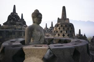 Indonesia - Open Buddha Borobudur