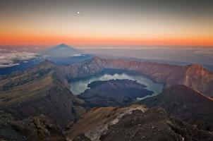 Indonesia - Mount Rinjani volcano Lombok