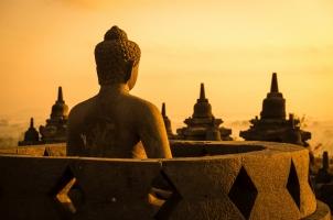 Indonesia - Open Stupa Borobudur