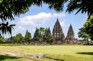 Indonesia - Prambanan temple near Yogyakarta