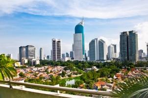 Indonesia - Jakarta Cityscape