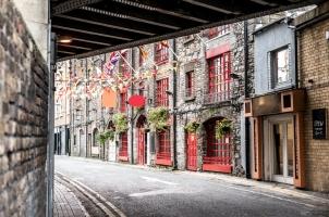 Ireland - beautiful street in Dublin