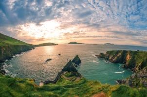 Ireland - Rock Stone Cliff Landscape Seascape