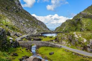 Ireland - Scenic view of Gap of Dunloe
