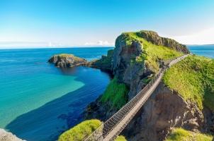Ireland - Northern Ireland rope bridge