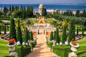 Israel - Bahai Gardens and Temple
