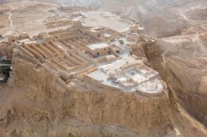 Israel - Masada Aerial