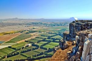 Israel - Mount Bental Border between Israel and Syria