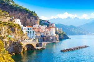 Italy - Amalfi cityscape