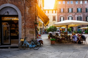 Italy - Lucca in Tuscany