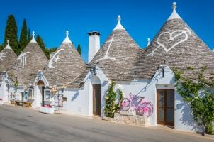 Italy - Trulli Village in Puglia