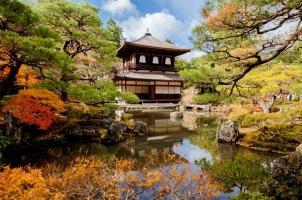 Japan - Ginkakuji Tempel Kyoto