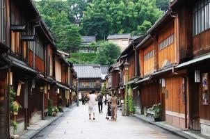 Japan - District in Kanazawa