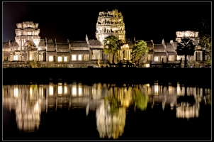 Cambodia - Siem Reap Angkor Wat by night