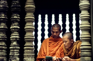 Cambodia - The monks