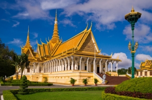 Cambodia - royal palace Phnom Penh