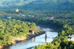 Laos - Luang Prabang Phou Si Moutain