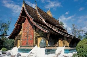 Laos - Luang Prabang Wat Xieng Thong