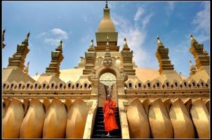 Laos - Vientiane Pha That Luang