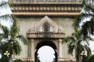 Laos - Vientiane Victory Monument