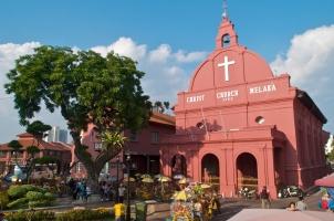 Malaysia - Christ Church Melaka Malacca Malaysia