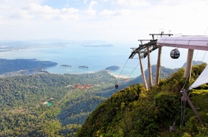 Malaysia - Langkawi hills cable car