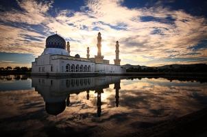 Malaysia - kota kinabalu mosque