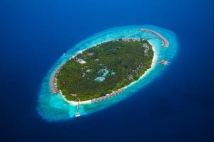 Maledives - Dusit Thani Aerial