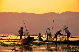Myanmar - Fishermen