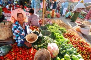 Myanmar - Local market