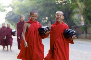 Myanmar - The monks