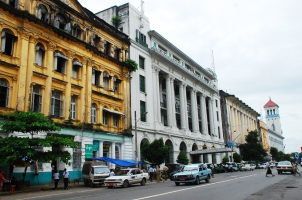 Myanmar - Yangon Colonial buildings