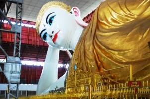 Myanmar - Yangon Reclining Buddha Temple