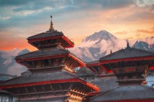 Nepal - ancient vity in kathmandu valley