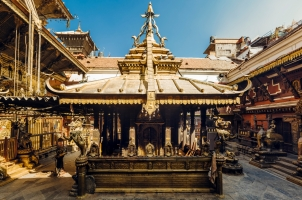 Nepal - the golden temple in patan
