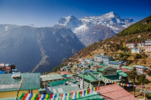 Nepal - namche bazar khumbu distict