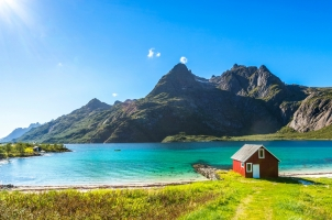 Norway - Trollfjord Lofoten Beach