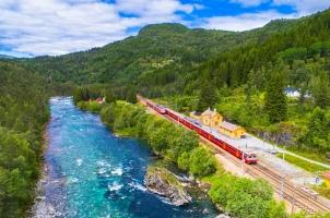 Norway - Train Oslo Bergen